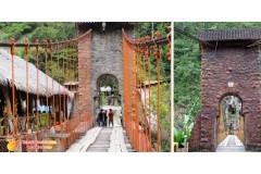 Puente Colgante Kimiri, un lugar con historia - Chanchamayo