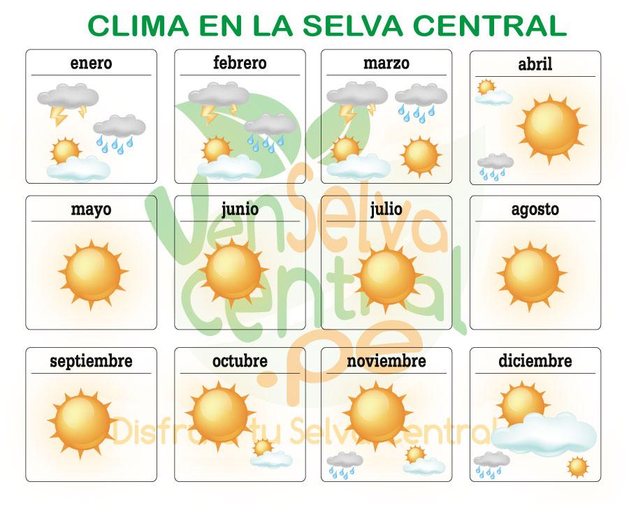 El clima en chanchamayo oxapampa y satipo for El tiempo en macanet de la selva