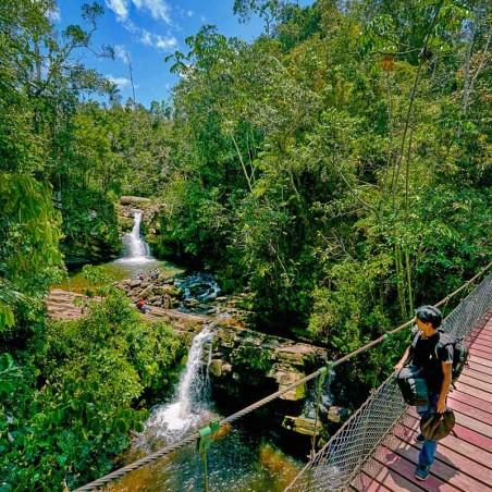 Cascada El León, Villa Rica
