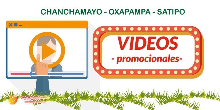 Videos promocionales de la Selva Central: Chanchamayo, Oxapampa y Satipo