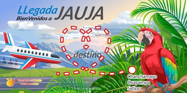 ¿Qué aerolíneas van a Jauja  y como llego a Chanchamayo, Oxapampa o Satipo – Selva Central?