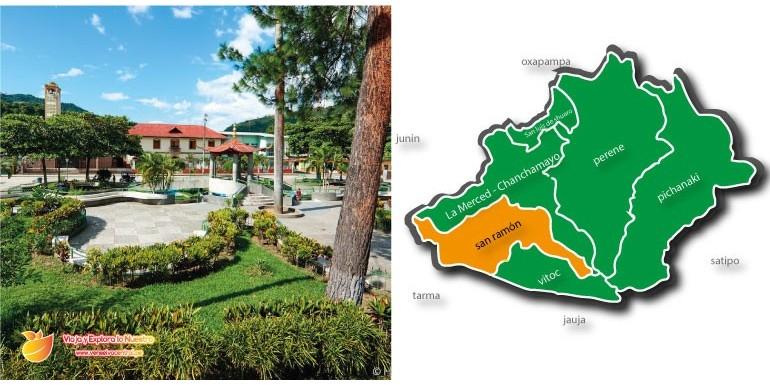 San Ramón – La Puerta de Oro a la Selva Central, sus lugares turísticos