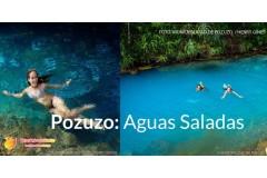 Pozuzo, pozas azules de aguas saladas