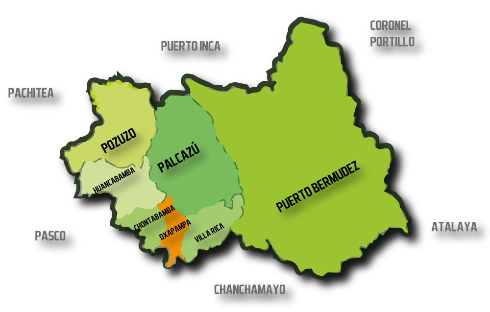 Mapa Oxapampa