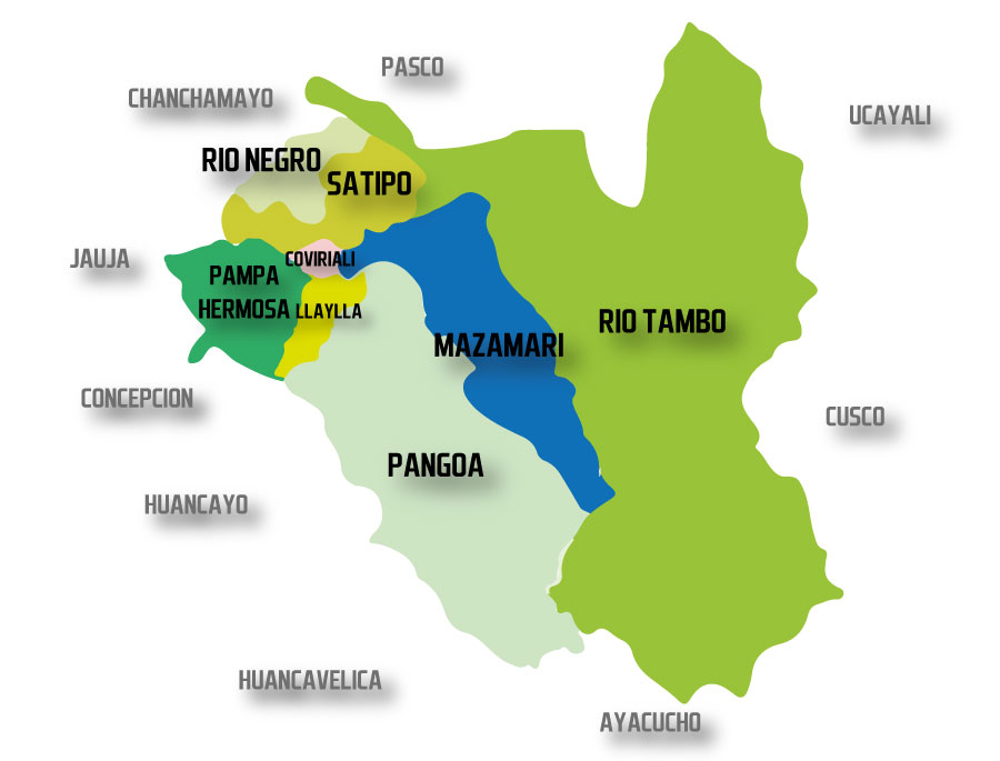 Mapa Satipo